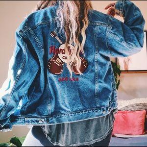 Vintage Hard Rock Cafe Jean denim jacket